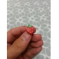 Anti-dust Fashionable Earphone Jack for iPhone and iPad (Strawberry)
