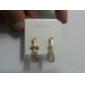오스트리아의 다이아몬드 귀걸이를 lureme®fashion