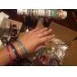 Lureme®Rose Gold Color Plated Alloy Multilayer Bracelet