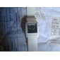 Digital + Analog Dual-Time Mens Wrist Watch with Weekday Display - White (2*CR1120) Cool Watch Unique Watch