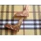 Z&x® западном стиле золотой цветочный узор воротник клип