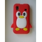 Lovely Penguin Design Soft Case for Samsung Galaxy Ace S5830 (Assorted Colors)