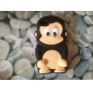 3D Design Cartoon Monkey Pattern Soft Case for iPhone 5/5S (Assorted Colors)