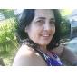 Femme Montre Tendance Bracelet de Montre Quartz Alliage Bande Rigide Argent