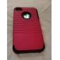 Разборная Жесткий чехол для iPhone 4 и 4S (разные цвета)
