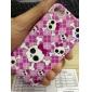 아이폰 4와 4S (멀티 컬러)의 아름다운 두개골 패턴 하드 케이스
