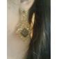 Boucle Boucles d'oreille goutte Bijoux Soirée Alliage Femme Noir