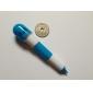 Retractable Lovely Vitamin Pill Style Blue Ink Ballpoint Pen (Random Color)