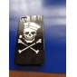 Pirate Skull Style Protective Case for iPhone 4 and 4S (Black)