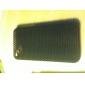매우 얇은 고무 매트 메쉬 하드 케이스 아이폰 4 표지 및 스크린 경비와 4S (블랙)