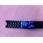 Per uomo Orologio da polso Digitale Calendario Con LED Plastic Banda Nero