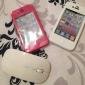 Силиконовый защитный чехол для iPhone 4S (разные цвета)