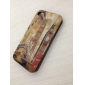 Bridge and Building Pattern Hard Case for iPhone 4 and 4S (Multi-Color)