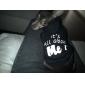 강아지 후드 강아지 의류 패션 문자와 숫자 로즈 그린 블루 핑크 밝은 블루 코스츔 애완 동물