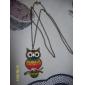 Радуга сова старинные ожерелья