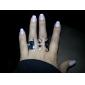 z&X® boné preto vidros forma cavanhaque anel