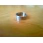 Кольцо из титановой стали унисекс с надписями