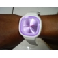 Silicone Band Fashion Women Men Unisex Casual Jelly Sport Watch - Yellow Cool Watches Unique Watches