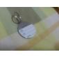 Etiqueta de Nome p/ Cão - Pata (Várias Cores)