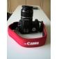 Камера Полный Красный ремешок неопрена для Canon 50D 40D 30D 5D 450D 1000D
