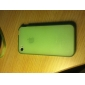 Fluorescent Silicone Case for iphone 4 Green