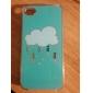 Case Modèle de dessin animé Hard Cloud pour iPhone 4/4S