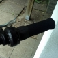 Anti-Slip Sponge + Resin Cycling Grips Bicycle Bar End Handlebar (Black) MN162421