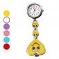 Mulheres Relógio de Bolso lapela Assista Quartzo Lega Banda Heart Shape Doce Branco Azul Vermelho Rosa Roxa Amarelo