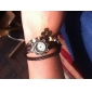 Women's Watch Bohemian Butterfly Pendent Multilayered Leather Bracelet Cool Watches Unique Watches