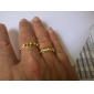 Ring Jewelry Alloy / Rhinestone Band Rings8 Gold