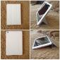dobrado projeto estojo de couro pu w / stand para iPad mini 3, mini iPad 2, iPad mini (cores sortidas)