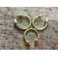 z&X® estilo do punk vintage rebite de ouro anel de setas