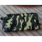 Camuflagem Caso Pattern rígido para iPhone 4 e 4S