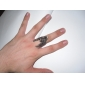 Eagle Pattern Antique Silver Ring