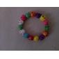 lureme®13mm bracelet coloré de crâne