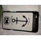 Anchor Pattern Hard Case for Samsung Galaxy S2 I9100
