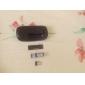 Mini 2.4GHz Wireless 800/1200DPI Optical Mouse with USB Receiver (Black)