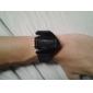 Муж. Спортивные часы Наручные часы электронные часы Цифровой Будильник Календарь Секундомер LED ЖК экран силиконовый Группа Черный Белый