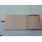 fivela projeto estojo de couro pu com suporte para iPad 2/3/4 (cores sortidas)
