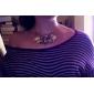 Женский Мода Ожерелья-бархатки Драгоценный камень Сплав Ожерелья-бархатки , Для вечеринок