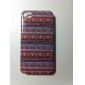 Étoiles petit modèle Transparent Hard Case Frame pour iPhone 4/4S