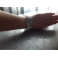 женская Diamand случае силиконовой лентой Кварцевые аналоговые наручные часы (разные цвета)