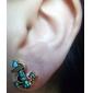 스터드 귀걸이 고급 보석 모조 다이아몬드 합금 닻 보석류 용 일상