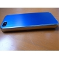 Solid Color Brushed Aluminum Hard Case for iPhone 5/5S (Assorted Colors)