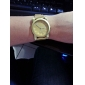 Quartz analogique Or Mesh Steel Band Wrist Watch femmes (couleurs assorties)