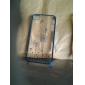 아이폰 4/4S용 버터플라이 걸 민들레 패턴 하드 케이스