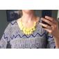 requintado colar doce cor água-drop acrílica (cores sortidas)