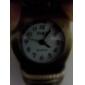 Аналоговые кварцевые часы на цепочке с черепами (под бронзу)