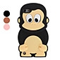3D Design Cute Monkey Pattern Soft Case for iPod Touch 5 (Assorted Colors)