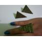 Rétro Pyramide anneau d'ouverture